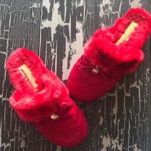 Michael Kors Wool & Cashmere Slippers